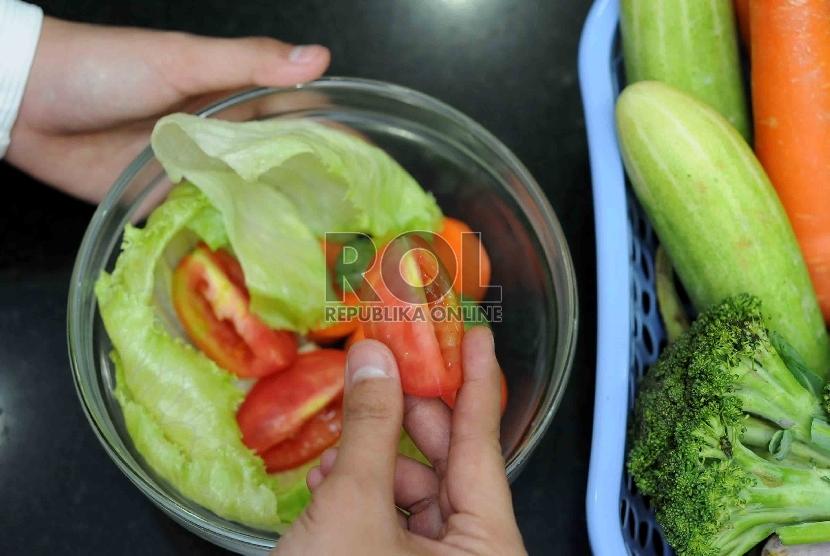 Sayur merupakan makanan yang dianjurkan bagi ibu hamil.