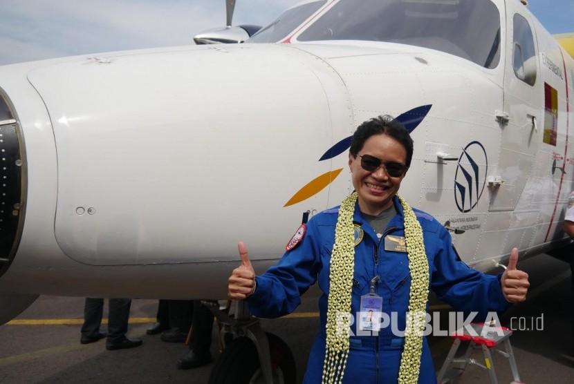 Ini Kesan Pilot Usai Uji Terbang Pesawat N219
