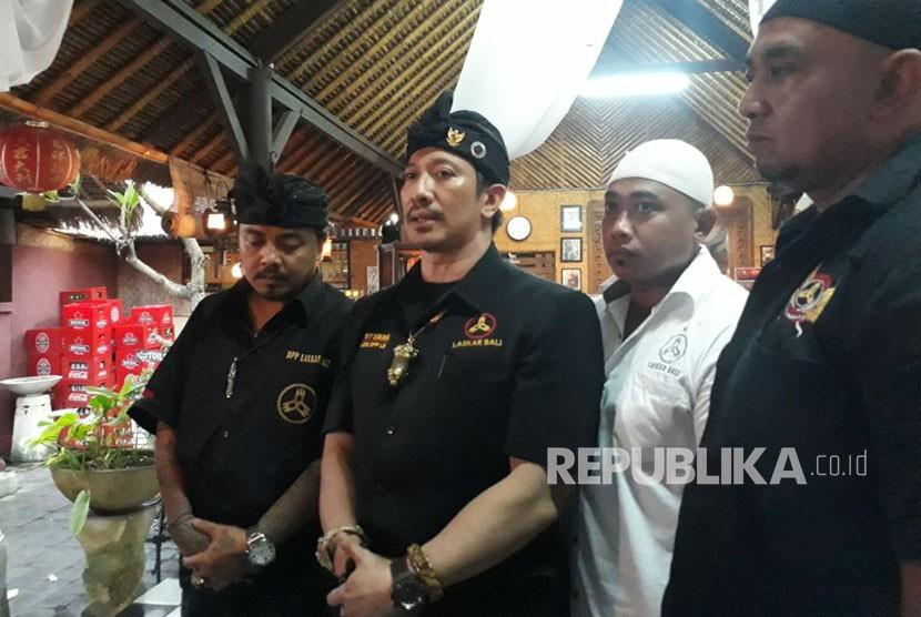 Pimpinan dan anggota Laskar Bali menyampaikan permohonan maaf kepada seluruh masyarakat Melayu, khususnya Muslim di Riau atas peristiwa yang dialami Ustaz Abdul Somad di Bali beberapa waktu lalu.