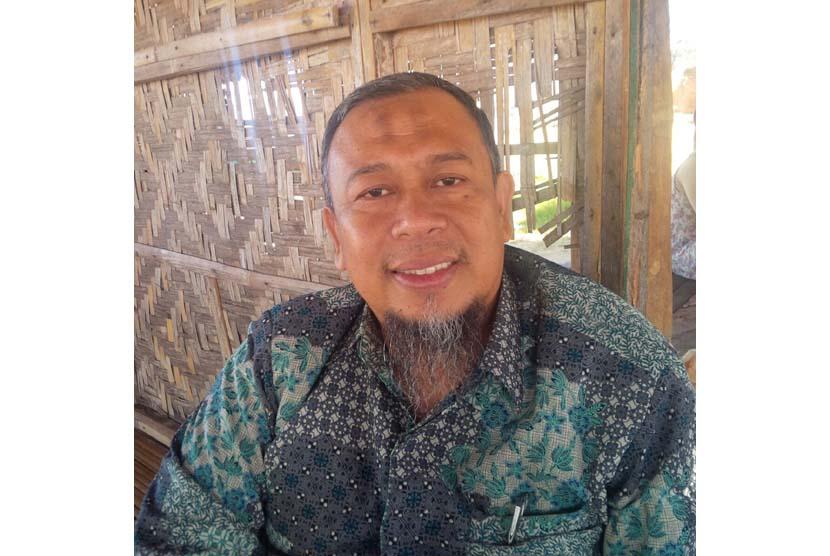 Pimpinan Pondok Pesanten Darul istiqomah KH Mudzakkir M Arif MA.