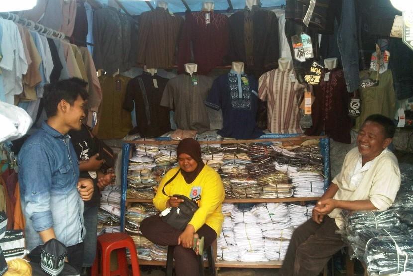PKL di Pasar Tanah Abang, Jakarta