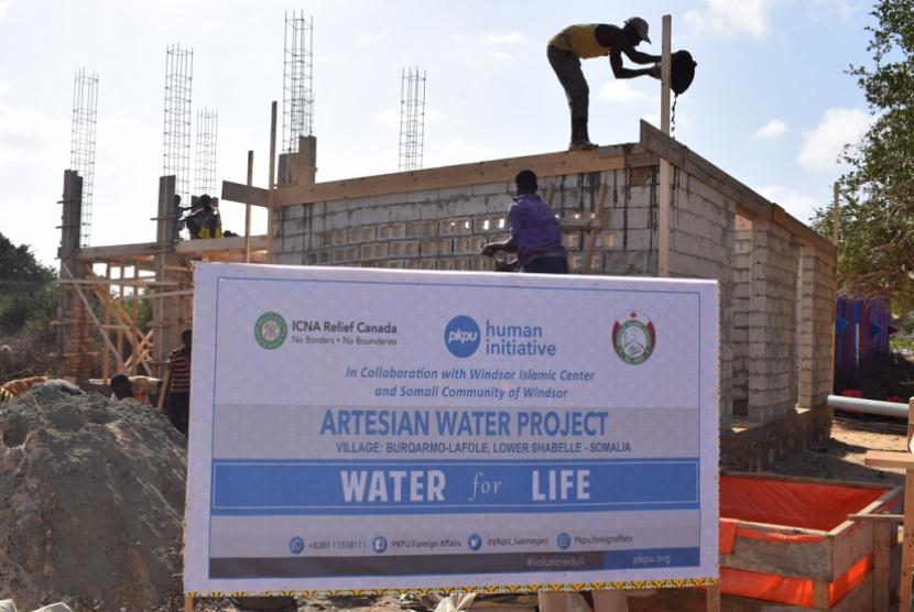 PKPU-HI lanjutkan pembangunan sumur untuk bantu atasi kekeringan di Somalia.