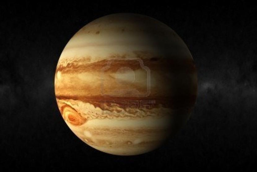 NASA Berhasil Memotret Badai di Planet Jupiter