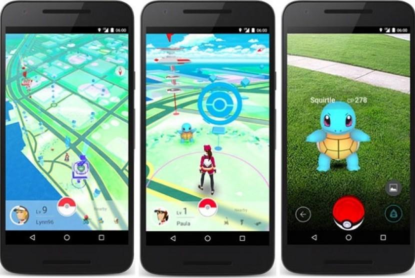 Pokemon GO. Ilustrasi