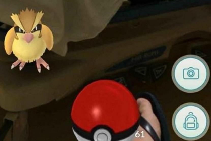 Pokemon Go Ilustrasi