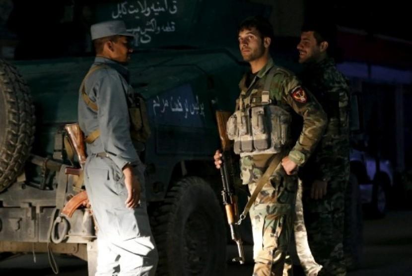 Polisi Afghanistan.
