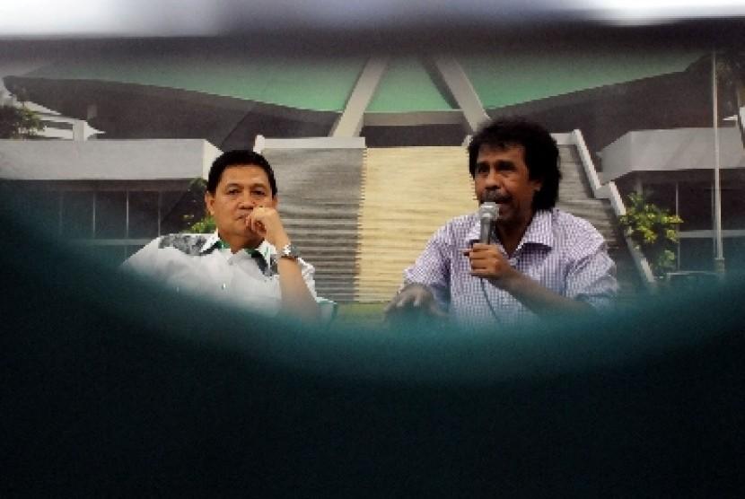 Politikus PPP Ahmad Yani (kiri).