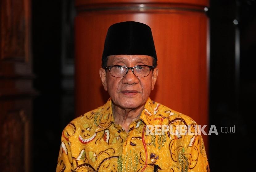 Politisi Senior Golkar, Akbar Tandjung