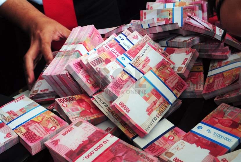 Uang Palsu. ilustrasi