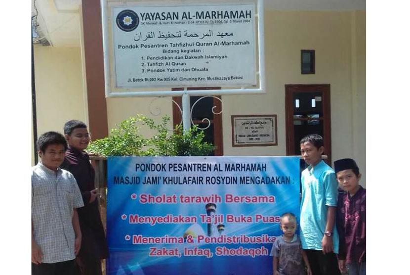 Ponpes Al Marhamah Resmikan Masjid Khulafaur Rasyidin dan Rumah Tahfizhul Quran