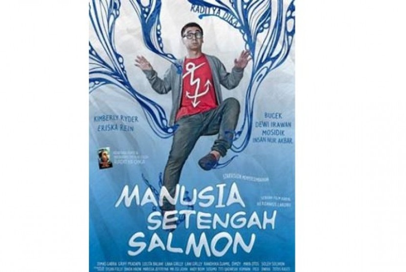 Poster film Manusia Setengah Salmon