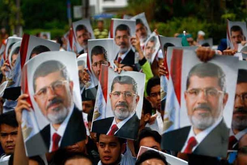 Poster Presiden Mesir Muhammad Mursi