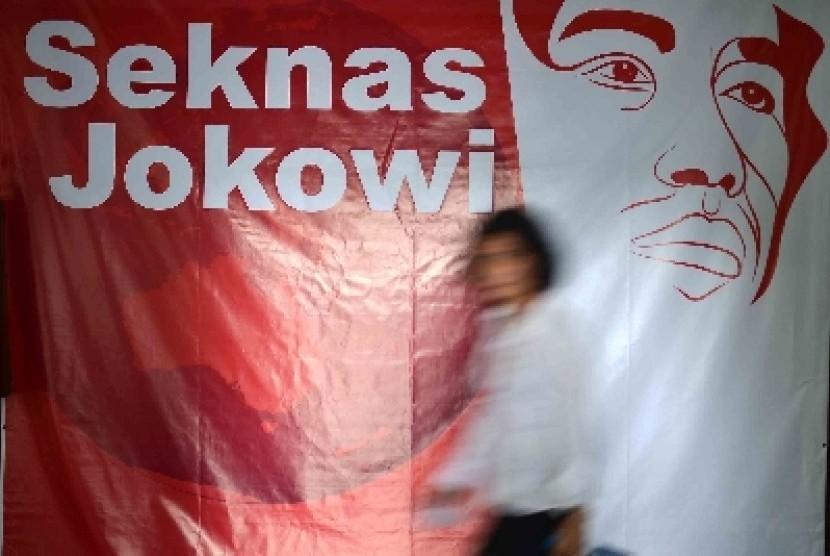 Relawan Seknas Jokowi Ziarah ke Makam Taufik Kiemas