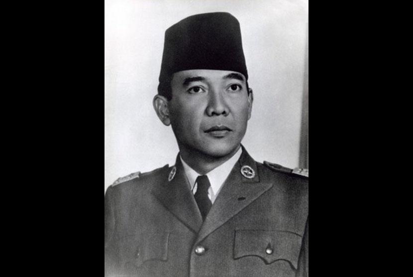 Potret Sukarno tahun 1961.