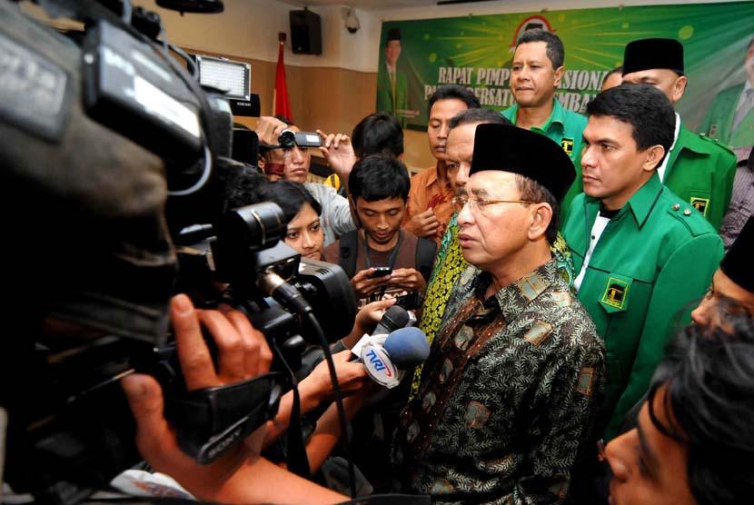 Ketua Umum PPP Wallpaper: Majelis Syariah PPP Nilai Prabowo Masih Kurang Menjual