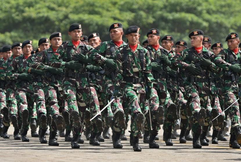 Prajurit TNI. (Ilustrasi).