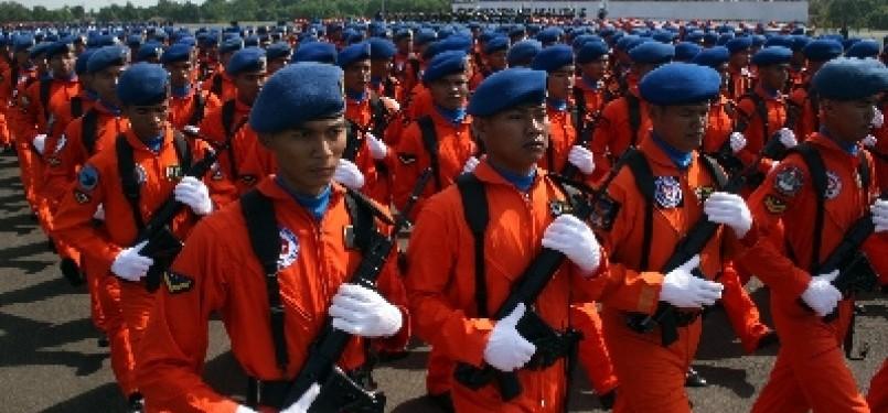 Prajurit TNI Angkatan Udara. (ilustrasi)