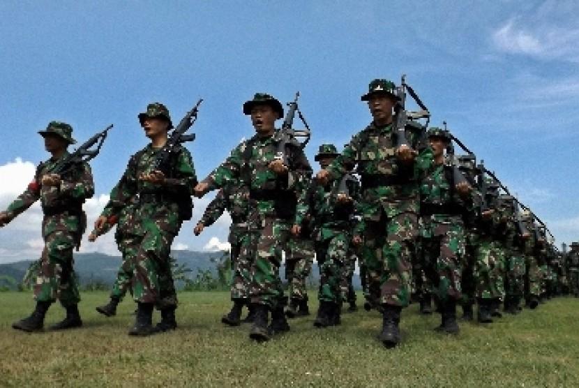 Prajurit TNI (ilustrasi).