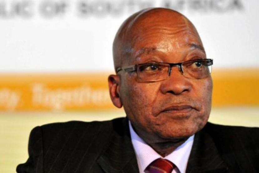 Presiden Afrika Selatan (Afsel), Jacob Zuma.