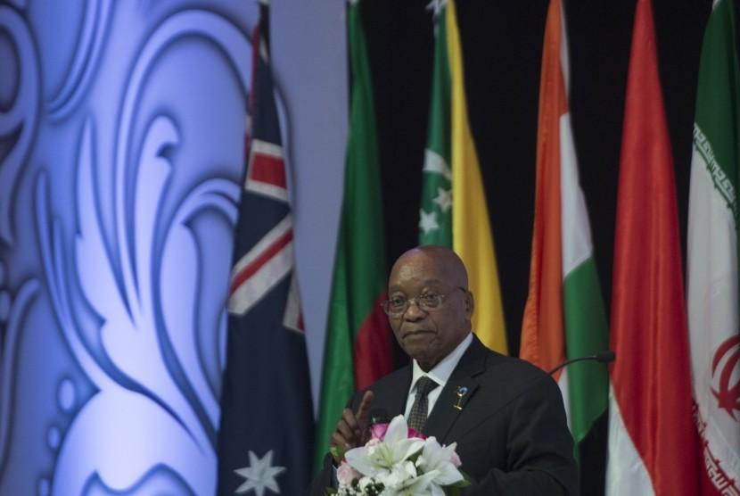 Presiden Afrika Selatan Jacob Zuma.