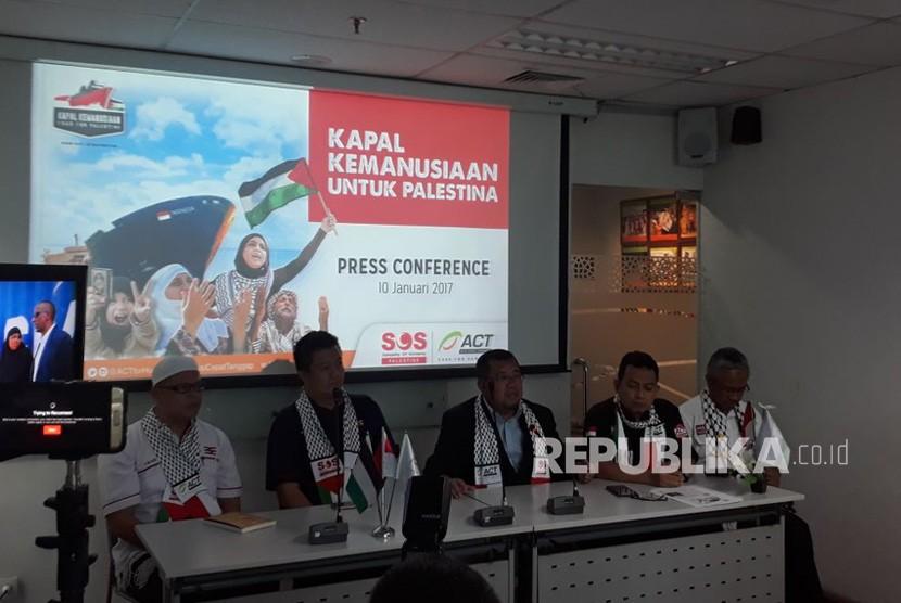 Kapal Kemanusiaan Palestina ACT Bangkitkan Kepedulian Global