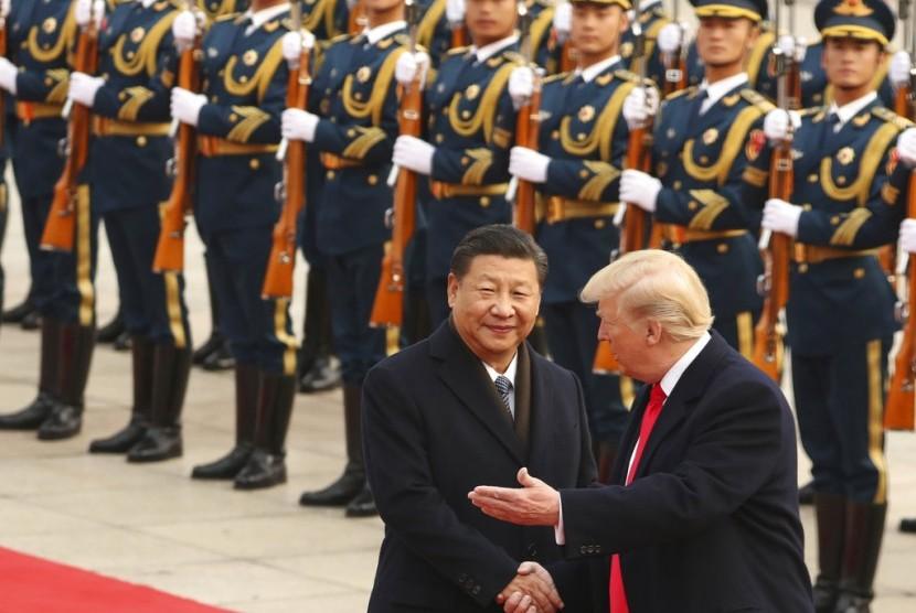 Hebatnya Trump, Tetap Mencicit Meski Twitter Dilarang di Cina