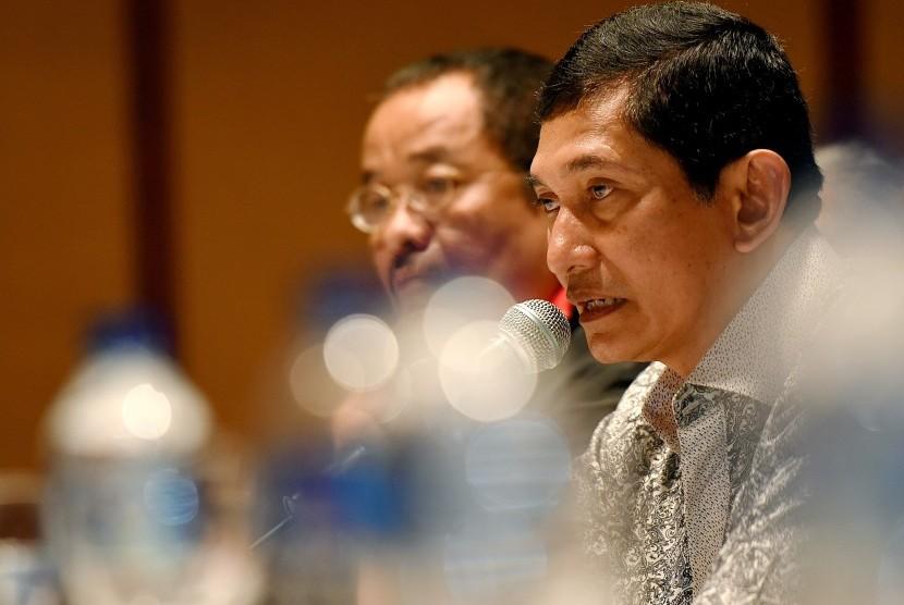 Presiden Direktur PT Freeport Indonesia Maroef Sjamsuddin