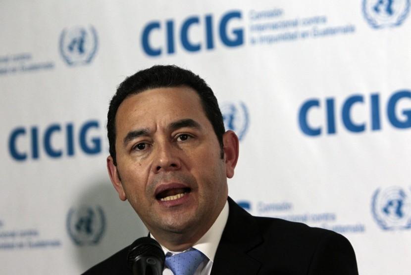 Presiden Guatemala Jimmy Morales.