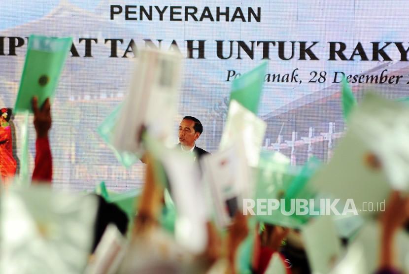 Jokowi Janji Terbitkan 1,2 juta Sertifikat Tanah di Jabar