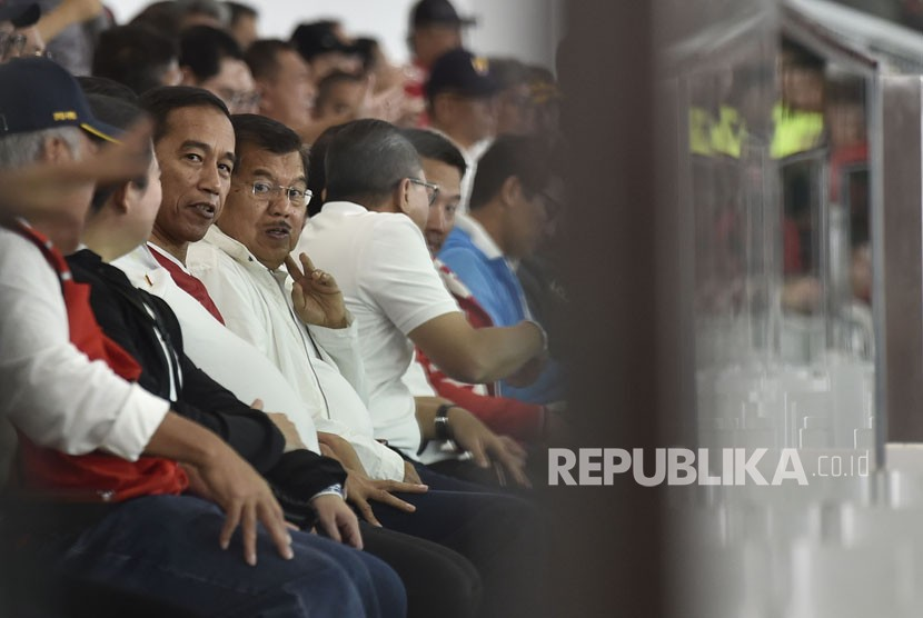 Jokowi Hadiri Laga Perdana Piala Presiden 2018