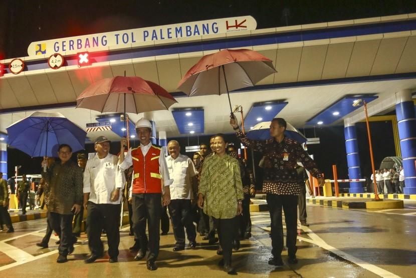 Jokowi Resmikan Tol Palindra, Gratis Sampai Akhir Tahun