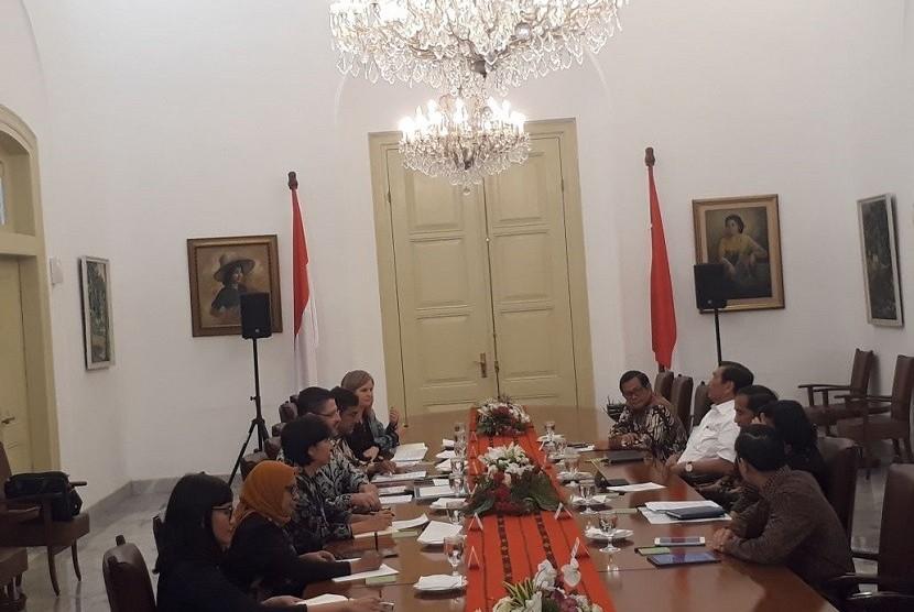 Jokowi Minta Masukan Bank Dunia untuk Pertumbuhan Ekonomi