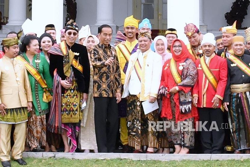 Tiru Soekarno, Jokowi Curhat Soal Nyamannya Tinggal di Bogor