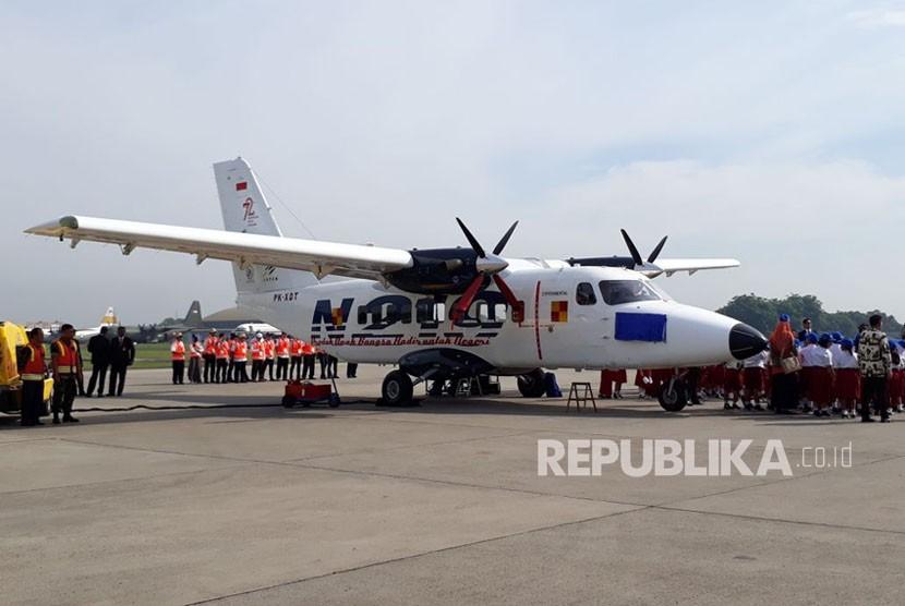 Presiden memberikan nama pesawat N219 dengan julukan Nurtanio yang diambil dari nama Pahlawan Dirgantara Laksamana Muda Udara (Anumerta) Nurtanio Pringgoadisuryo.