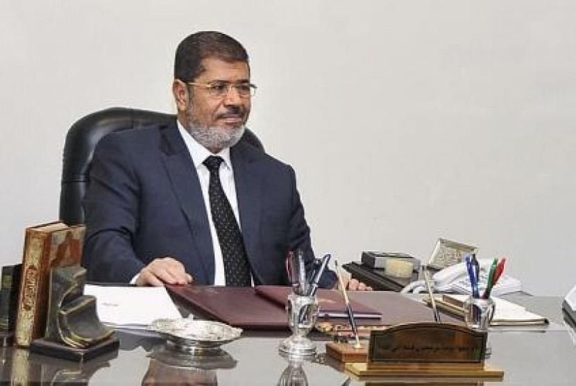 Presiden Mesir, Mohammed Mursi