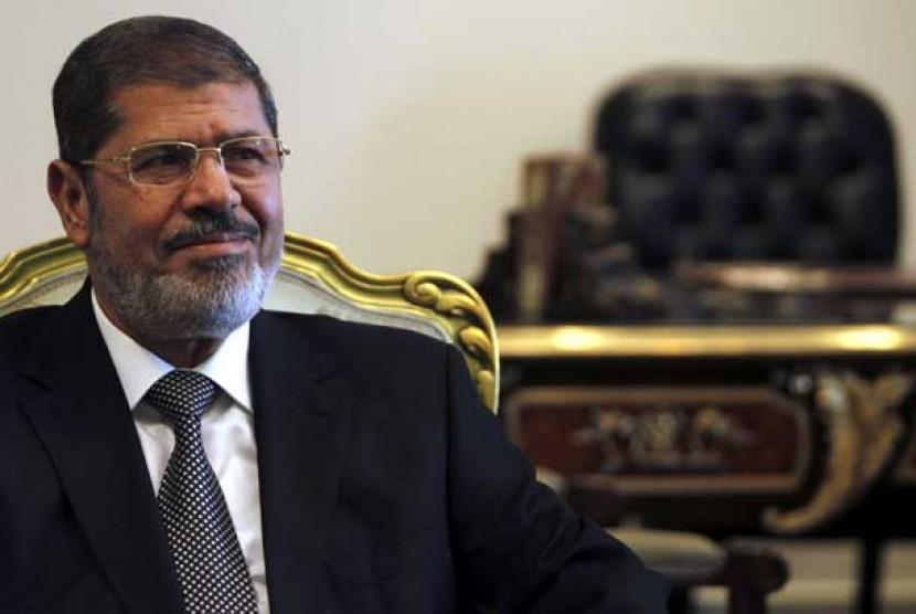 Presiden Mesir, Muhamad Mursi.