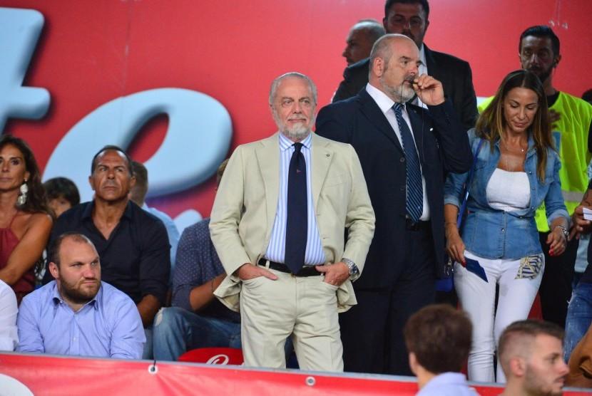 Pemilik Napoli Minta Pemain Utama Istirahat Lawan City