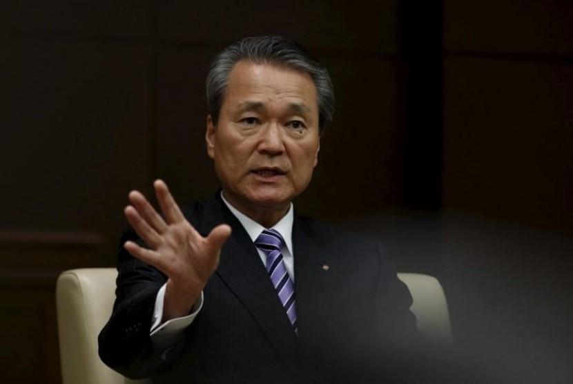 Presiden Nippon Life Insurance Co, Yoshinobu Tsutsui.