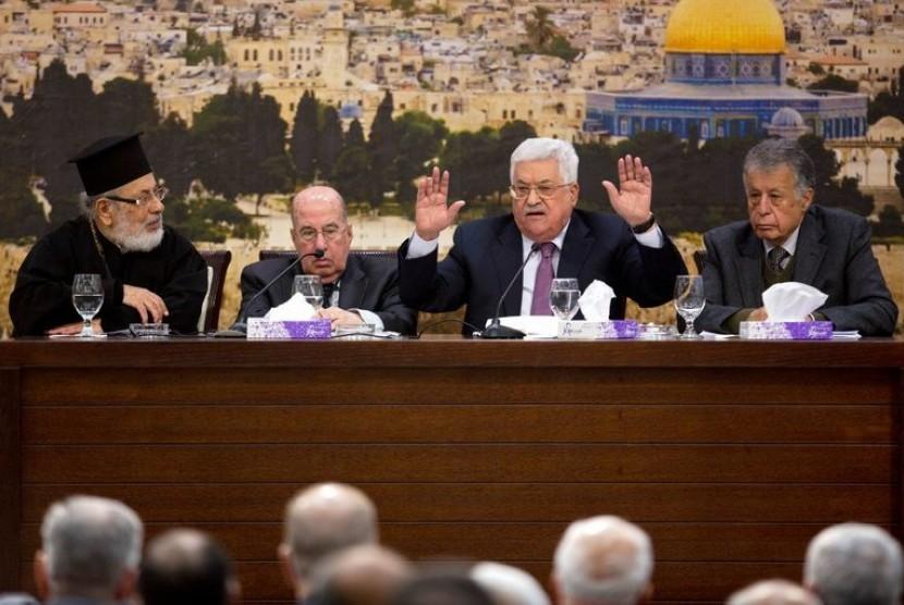 Dewan PLO Tangguhkan Pengakuan Atas Negara Israel