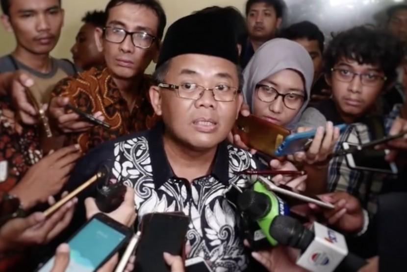 Presiden Partai Keadilan Sejahtera (PKS) Sohibul Iman