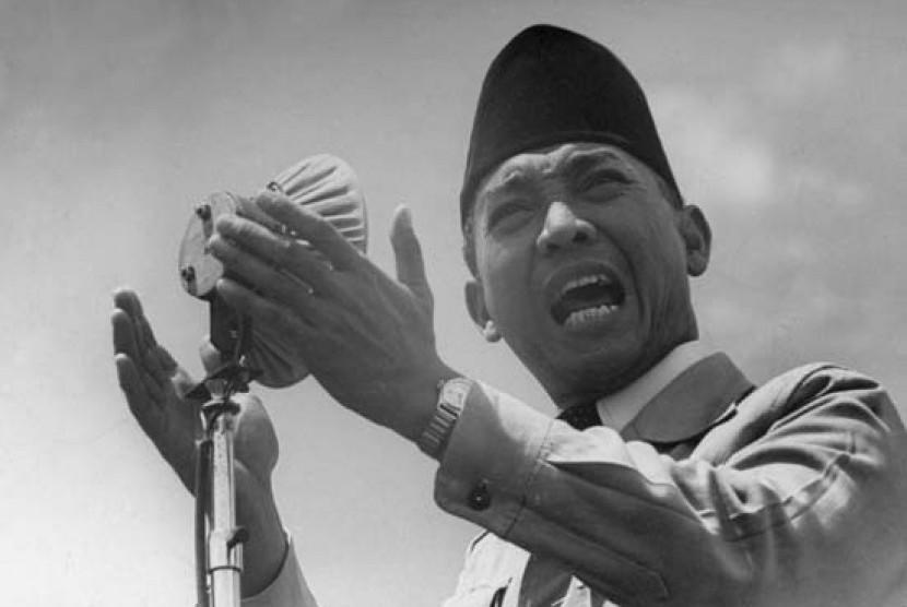 Presiden pertama RI Soekarno