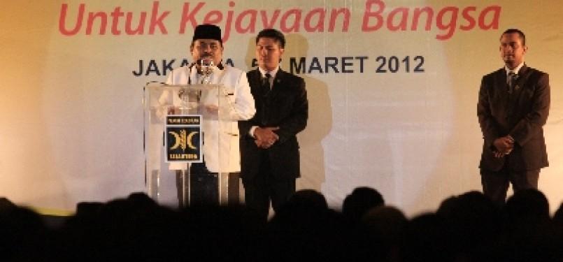 Presiden PKS Lutfi Hasan Ishaq