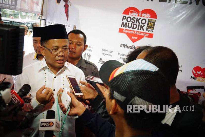 Presiden PKS Mohamad Sohibul Iman