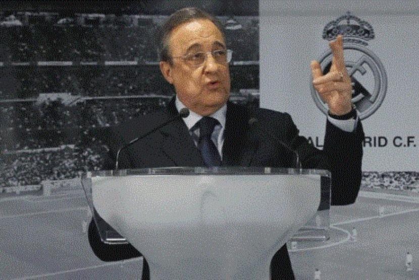 Presiden Real Madrid, Florentino Pérez