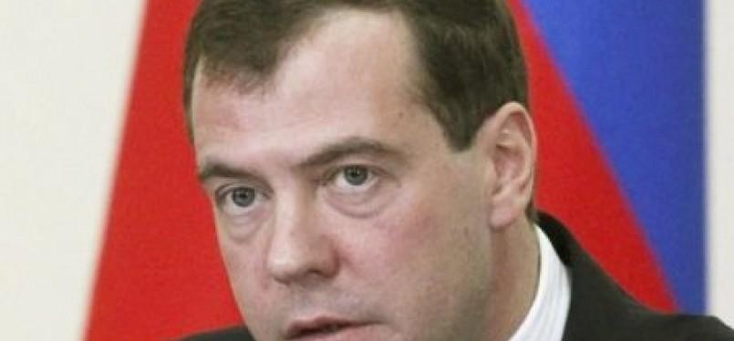 Presiden Rusia Dmitry Medvedev