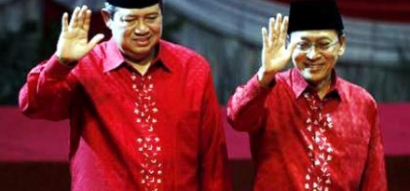 Presiden SBY dan Wapres Boediono