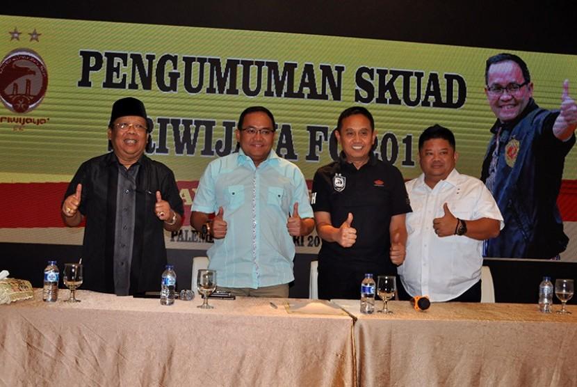 27 Pemain Sriwijaya FC tanpa Bio Paulin dan Al Hadji