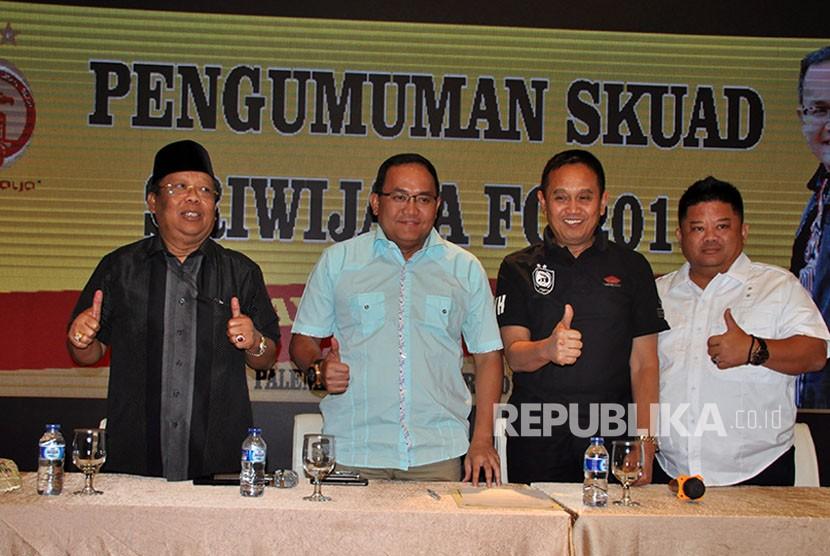 Sriwijaya FC Kontrak Seluruh Pemain Dua Tahun