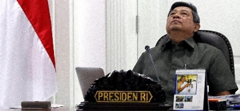 Presiden Susilo Bambang Yudhoyono (SBY).