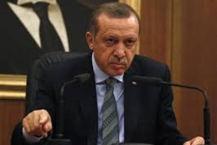 Presiden Turki Reccep Tayyip Erdogan.